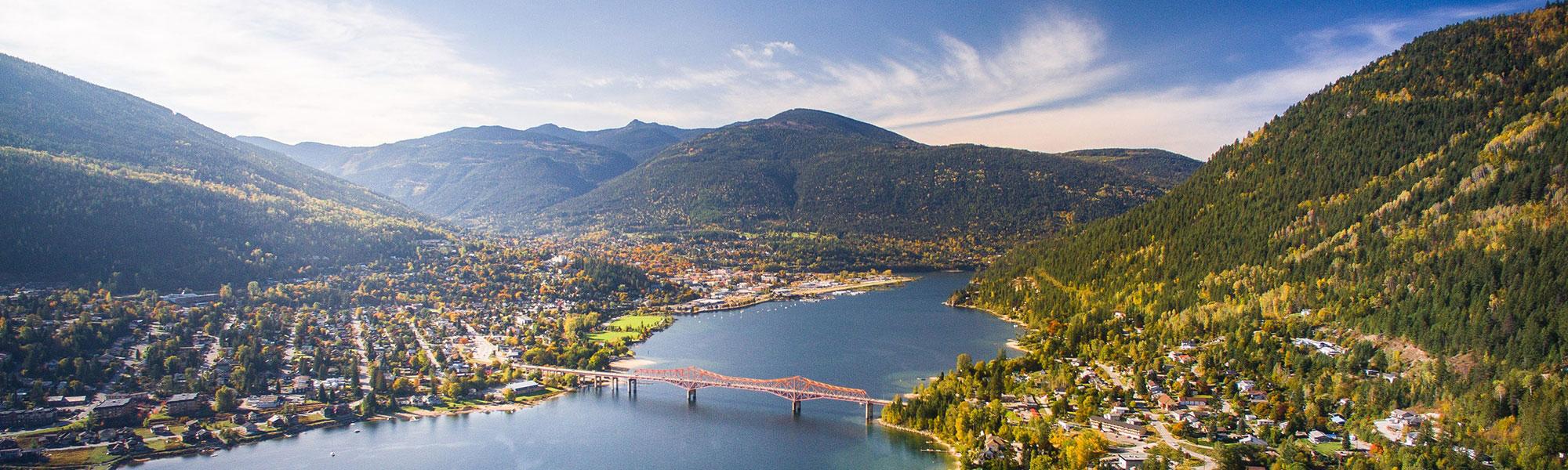Bridge over Nelson BC